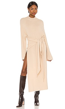 ROBE MI-LONGUE TIED UP SNDYS $69 BEST SELLER