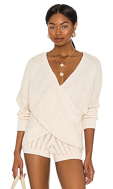 Double Cross Knit Sweater SNDYS $57 BEST SELLER