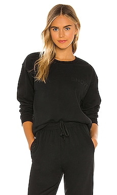 LOUNGE Luxe Fleece Crew Sweatshirt SNDYS $55 BEST SELLER
