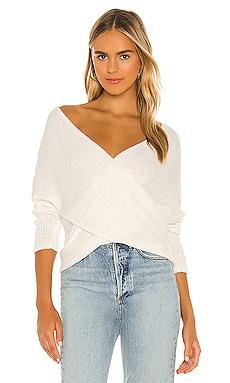 Double Cross Knit Sweater SNDYS $57
