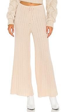 LOUNGE Baha Ribbed Wide Leg Pant SNDYS $59