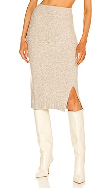 Late Lunch Knit Skirt SNDYS $69