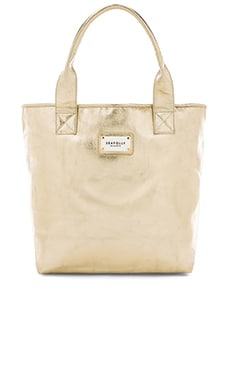 Seafolly Carried Away Glimmer Tote Bag in Gold