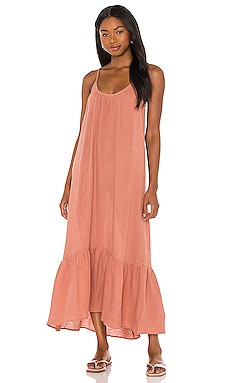 Double Cloth Midi Slip Dress Seafolly $128 NEW