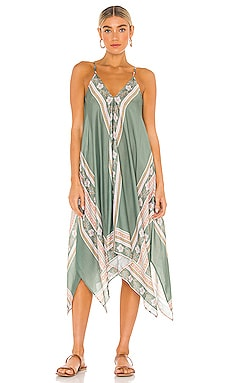 Balinese Retreat Scarf Dress Seafolly $188 NEW