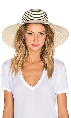 Seafolly Babylon Hat in Black