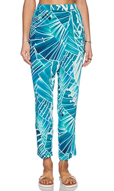 Seafolly Miami Blade Runner Pant in Seychelles