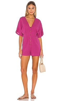Button Up Playsuit Seafolly $64