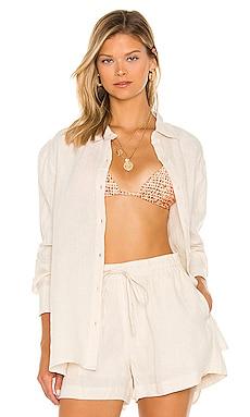 Beach Linen Shirt Seafolly $128 BEST SELLER