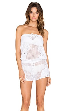 Seafolly Charlie Romper in White