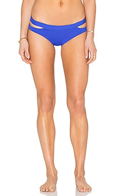 Seafolly Active Split Band Hipster Bottom in Blue Ray