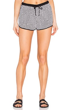 Seafolly Buster Short in Black & White