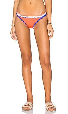 Seafolly Summer Vibe Bikini Bottom in Nectarine