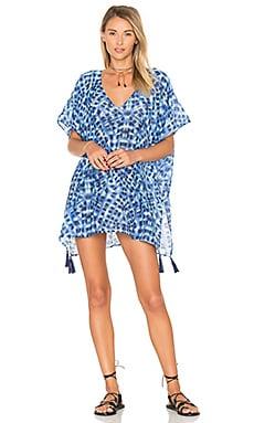Платье в восточном стиле с принтом индиго - Seafolly