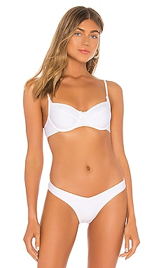 Capri Sea Underwire Bra Bikini Top Seafolly $44