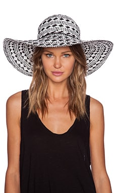 Seafolly Amaze Hat in Black