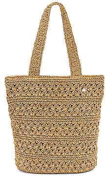 Daisy Chain Crochet Tote Seafolly $78