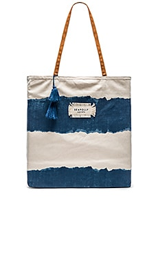 Seafolly Indian Summer Tote in Denim