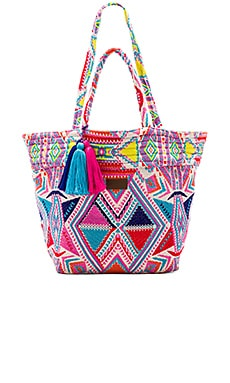 Carried Away Oversized Tote in Multi