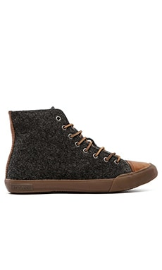 SeaVees 08/61 Army Issue Hi-Top in Pewter Boiled Wool
