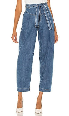 Signature Blue Denim Trousers See By Chloe $375
