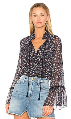 All Over Roses Tunic