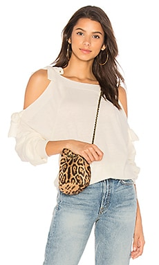 Cut Out Tie Shoulder Knit