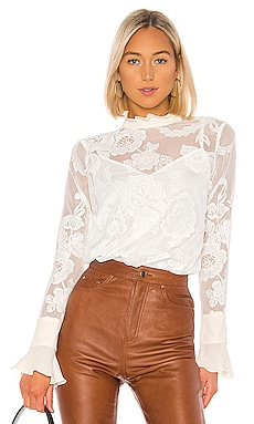 Lace Blouse See By Chloe $440