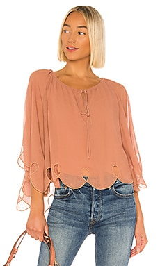 Georgette Cape Top See By Chloe $207