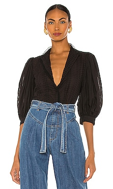 Embellished Voile Top See By Chloe $295 NEW