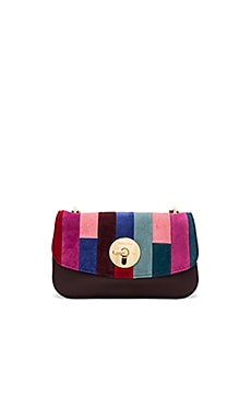 Lois Clutch in Dark Plum