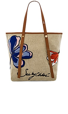 Andy Tote Bag in Flowers