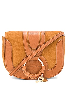 Hana Mini Suede & Leather Crossbody See By Chloe $295