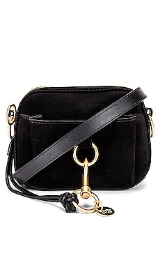 Tony Small Crossbody Suede Bag See By Chloe $395