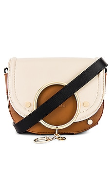Mara Colorblock Medium Leather Shoulder Bag See By Chloe $470