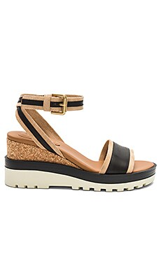 Colorblock Wedge