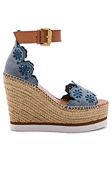 Glyn Wedge Sandal See By Chloe $166
