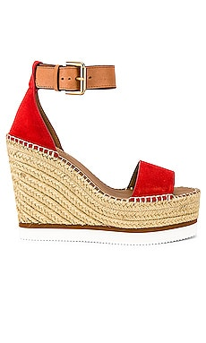 САНДАЛИИ GLYN WEDGE See By Chloe $140
