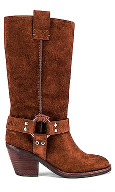 Western Knee High Boot See By Chloe $540 NEW ARRIVAL