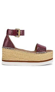 Glyn Flatform Espadrille See By Chloe $215 Collections