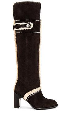 Liz Shearling Boot See By Chloe $615