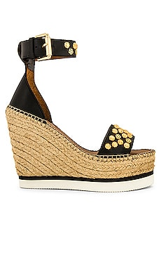 Flower Stud Espadrille See By Chloe $285 Collections