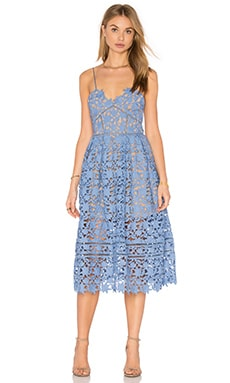 235fae2999e1 self-portrait Azaelea Dress in Blue | REVOLVE