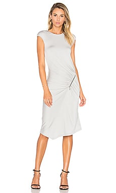 Dane Dress in Light Grey