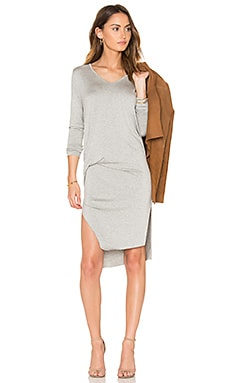 Malin Dress in Heather Grey
