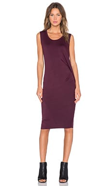 sen Alaia Dress in Burgundy