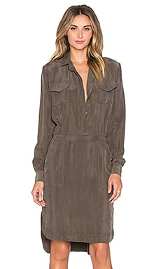 sen Hunter Dress in Army Green