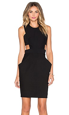 sen Victor Dress in Black