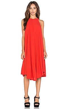 Kasia Dress in Red