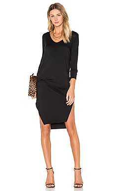Malin Dress in Schwarz
